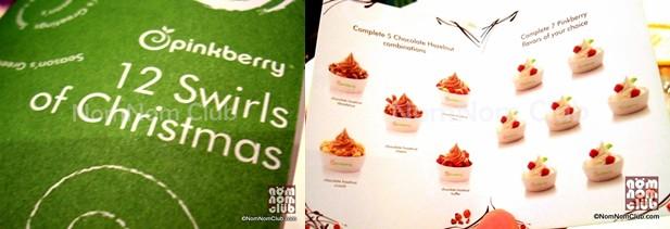 Pinkberry '12 Swirls of Christmas'