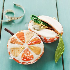 Orange Sewing Kit