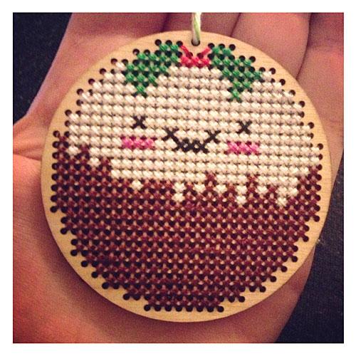 Christmas Pudding Ornament