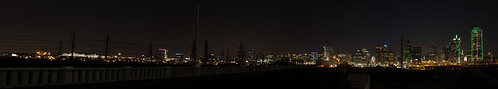 Dallas Night Pano