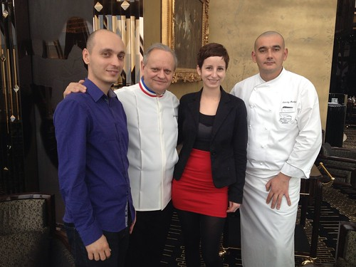 Meeting with Robuchon