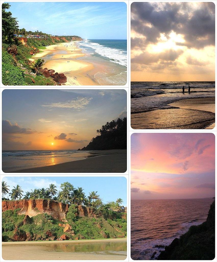 Varkala Beach India best beaches in the world