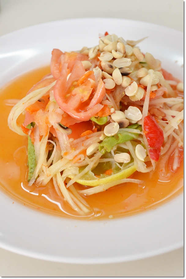 Thai Papaya Salad - Som Tam