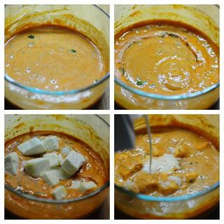 30-Min Microwave Paneer Butter Masala Recipe