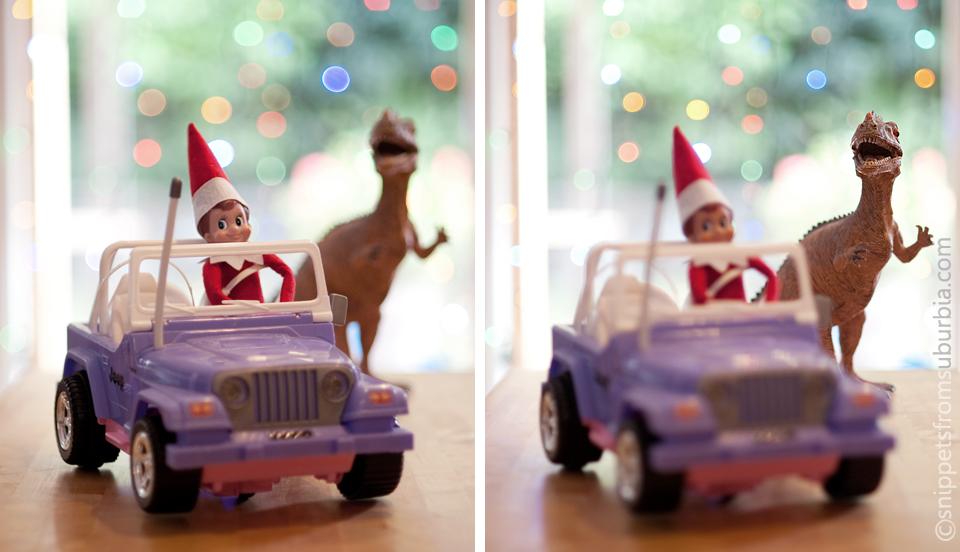Elf on the Shelf, December 3rd