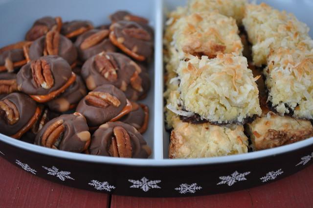 Rolo Bites / Coconut Brownie Bites