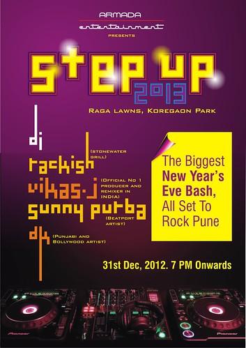 step up leaflet