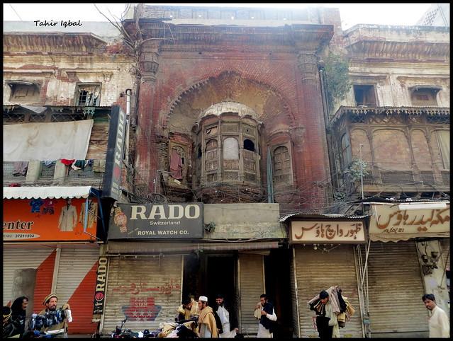 Pre partition 1947 mandir in anarkali bazar lahore punjab for Bano bazar anarkali lahore