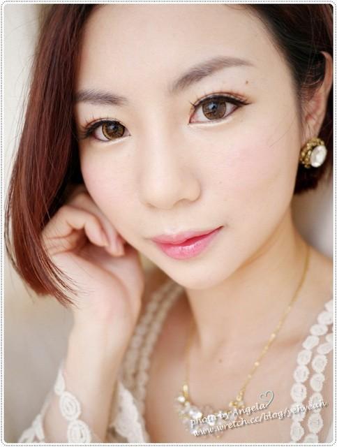 【共筆人物】微性感紅唇喝喜酒妝&娃娃婚禮小花絮