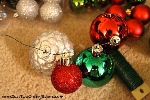 How to make a holiday ornament garland