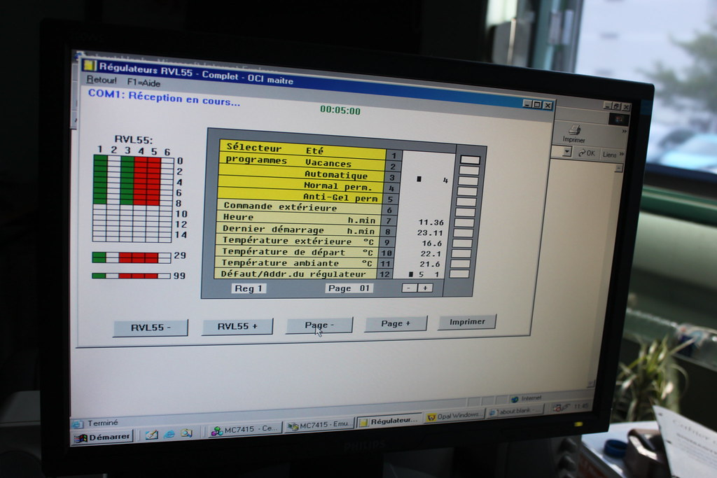 Heating management system of the site-2 by ideasproject