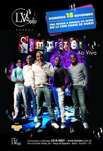 Flyer - Samprazer by chambe.com.br
