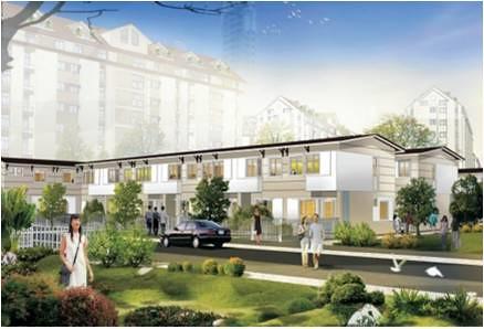 Nhà phố vườn Ehome, Bắc Sài Gòn, giá 841 triệu/ 1 căn