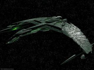 Romulan Warbird, Star Trek, Paramount