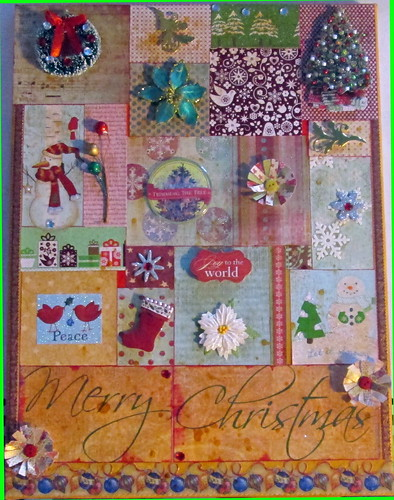Christmas Wall Hanging by Gennie59