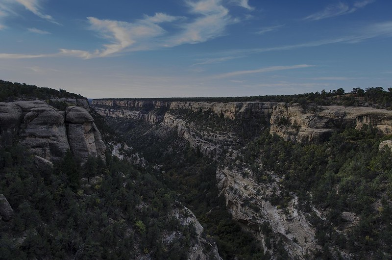 Cliff Canyon - Mesa Verde