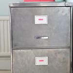 My vintage filing cabinet