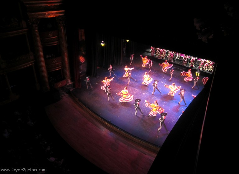 Teatro Degollado Folklorico performance