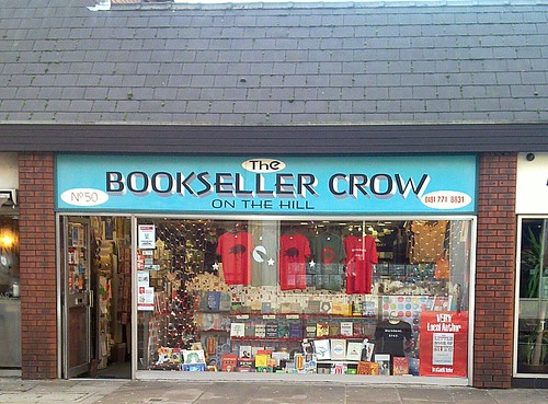 Bookseller Crow on the Hill, Crystal Palace, London SE19