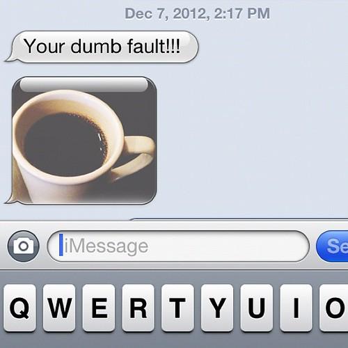 Me=winning. #coffeewars @joshhudnall