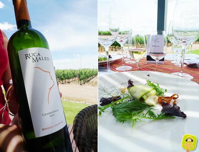 Bodega Ruca Malen Tasting Menu with wine pairing- Mendoza 1