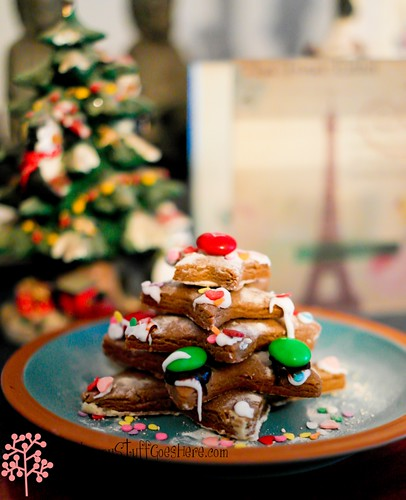 Gingerbread Xmas tree