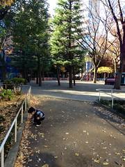 恵比寿公園にて 2012/12/9