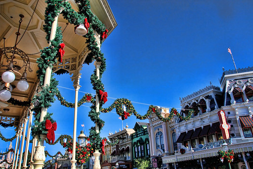 Christmas on Main Street (WDW)