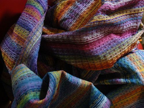 Handwoven Rainbow towels - DONE!