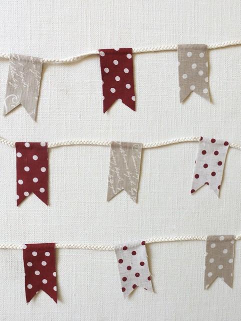Danish Linen Wreath