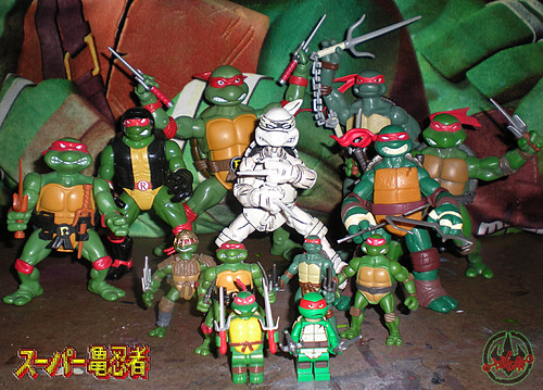 "LEGO Teenage Mutant Ninja Turtles :: ""Stealth Shell in Pursuit"" ; Raphael xv  / .. with  Raphael Assembly  (( 2013 ))"
