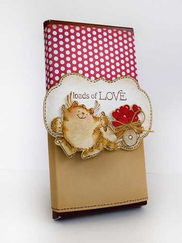 Chocolate Wrap Kitty Valentine
