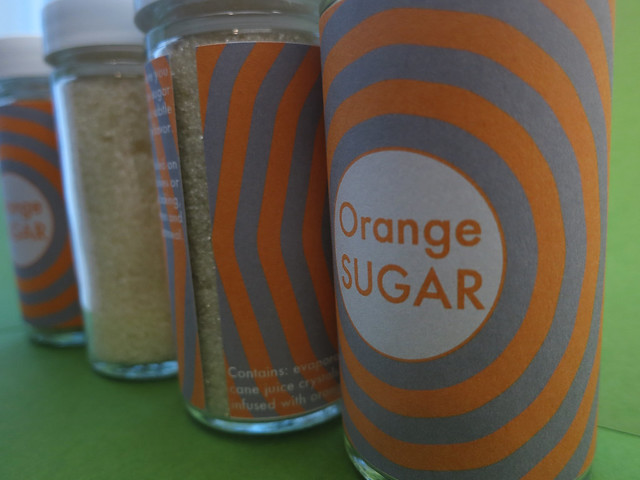 orange sugar