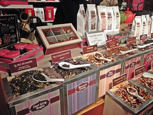 rynek świąteczny w nicei