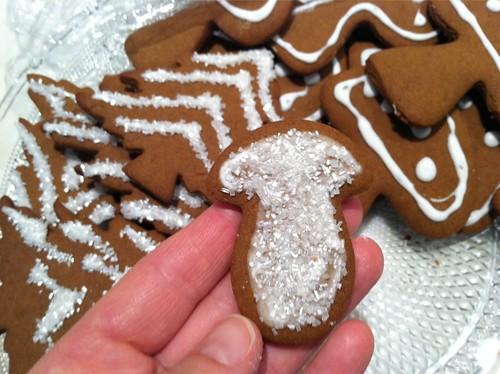 Gingerbread Mushroom