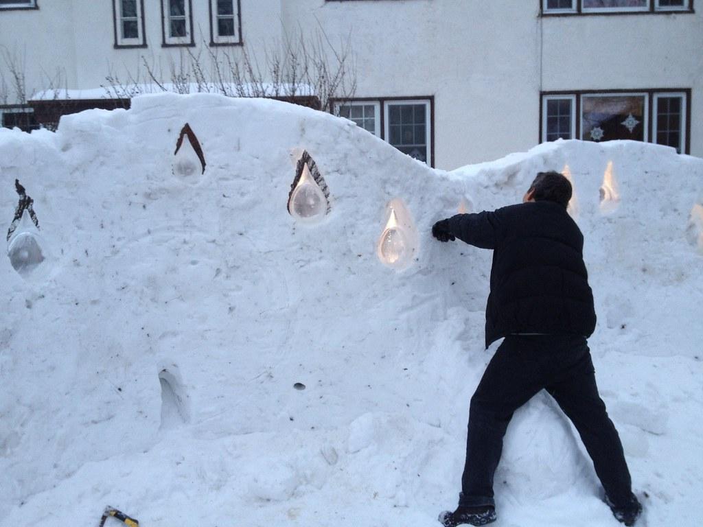 Wolseley Snow Art