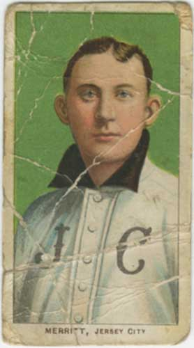 1910 T206 George Merritt