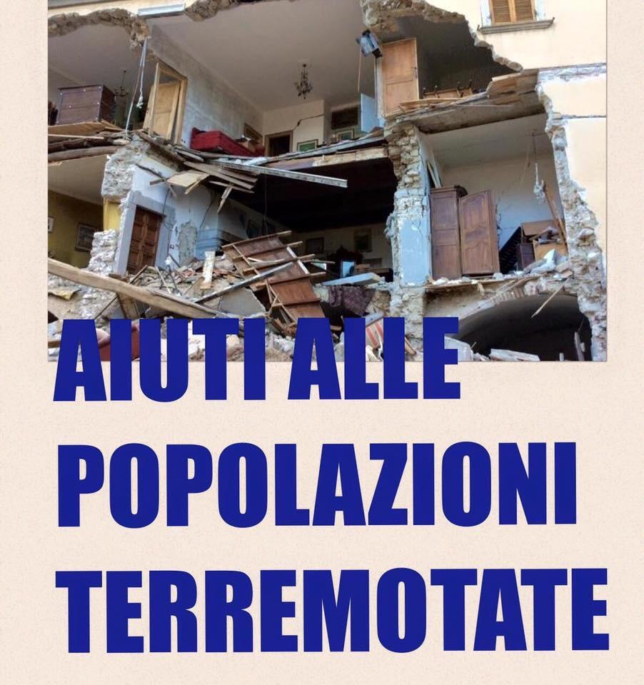 Risultati immagini per solidarietà terremoto centro italia