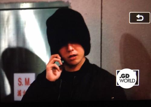 BIGBANG departure Macao to Seoul 2015-10-26 gdworld