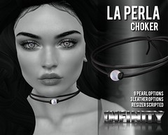 !NFINITY La Perla Choker