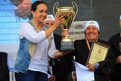 09/25/2016 - 15:33 - Otavalo, Imbabura 25 Sep (Andes).- Se celebró en Otavalo la 2da edicion del campeonato mundial del hornado con la presencia del Presidente Rafael Correa y dignidades de estado en la mesa calificadora. Fotografías. Carlos Rodríguez/Andes