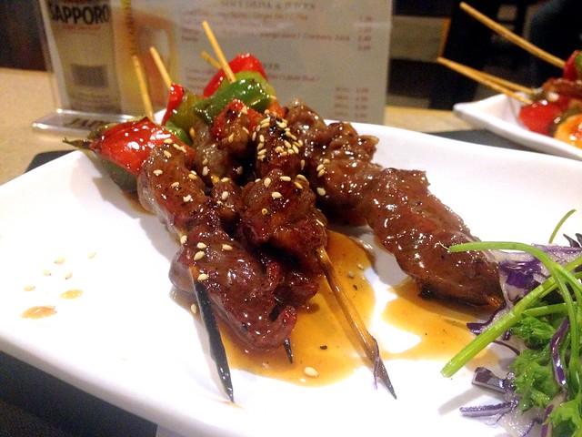 Beef Yaki-Tori