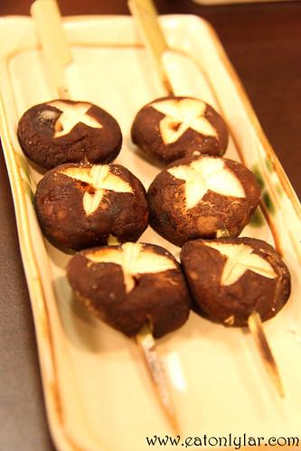 Shiitake Mushroom, Kushiyaki Kuni
