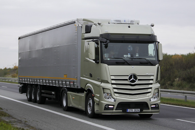 Mercedes Benz New Actros Mp4 A Photo On Flickriver