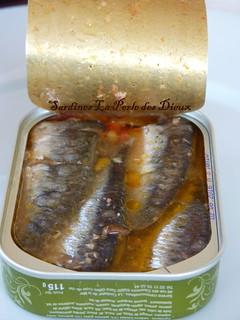 Salade de Sardines La Perle des Dieux
