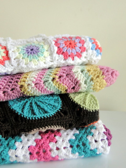 Plus 3 Crochet Baby Blankets Now For Sale