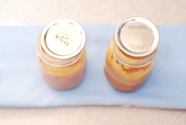 Dulce de leche is ready - cool it off for several hours and refrigerate it to solidify it slightly before use