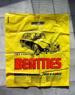 Plastic Carrier Bags From Beatties Toy Store Glasgow Scotland 1990s - 7 Of 22