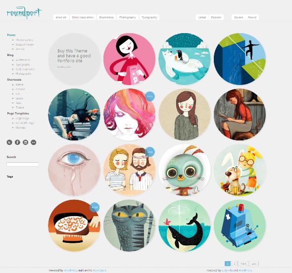 Roundport - Photo Theme
