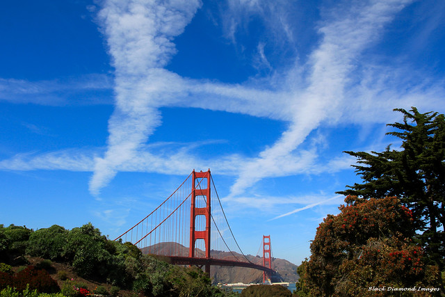 Noughts and Crosses - Golden Gate Bridge, San Francisco - 20th September 2012